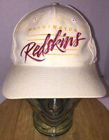 Vintage 80s WASHINGTON REDSKINS Drew Pearson NFL Hat Cap Snapback SCRIPT & BARS