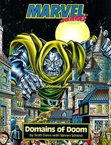 Marvel Super Heroes Campaign Set Domains of Dr Doom RPG TSR FANTASTIC FOUR