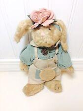 "Boyds Bears ""Emily Babbit"" 8"" Brown Bunny Rabbit Bailey Friends Retired 1997"