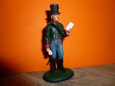 SOLDAT DE PLOMB DELPRADO DE L EMPIRE = OFFICIER DE CARINTHIE AUTRICHE 1809