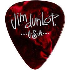 Dunlop 483P09TH Premium Celluloid Classic Guitar Picks Red Pearloid Thin 12-Pack