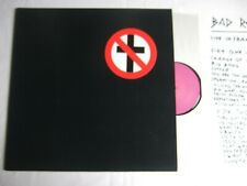 BAD RELIGION Live in France 1991 LP Insert sheet No Control Tour suffer