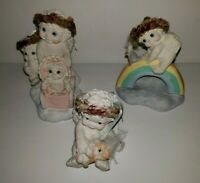 Dreamsicles Figurines Lot Of 3 Rainbow Rider, Kitty & Me & Sunday Stroll
