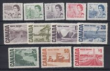 Canada Scott 454-465B MNH - 1967 Centennial Definitive Issue