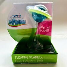 New listing Top Fin Floating Planet Chill'n Float Whimsical Fish Tank Aquarium Decor New