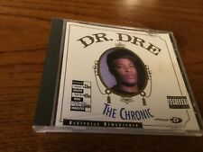 DR DRE - THE CHRONIC  - CD ALBUM - DRE DAY / LET ME RIDE / GANGBANG +