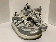 Womens Sketchers Fitness Shape Ups Tone Strength Walking Sneaker Shoes Size 11
