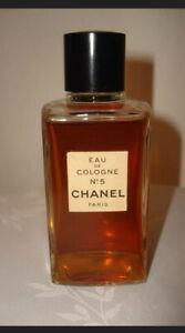 Vintage Original Splash Eau De Cologne N°5 CHANEL Paris Commercial Bottle 4Fl Oz