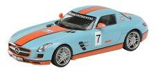 "Schuco 1:43 450755000 Mercedes SLS AMG Coupé C197 ""Gulf"" NEU OVP"
