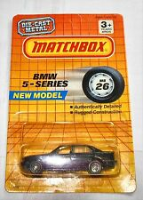 SUPERFAST MB26 BMW 5-SERIES 1990 MADE IN THAILAND  DIECAST MINT ON CARD