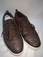 Lacoste Ojetti Mag Men's Sport Casual Leather Sneakers SHOES US 10 1/2 Brown