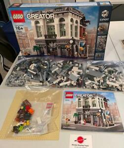 Brick Bank 10251 Complete With Box Original Lego Modular