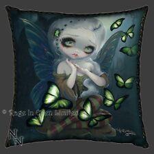 *ABSINTHE BUTTERFLIES* Strangeling Fairy Art Cushion By Jasmine Becket-Griffith