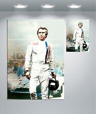 Steve McQueen Le Mans Vintage Movie Giant Wall Art Poster Print