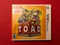 NEW & Retail Sealed: Captain Toad: Treasure Tracker for Nintendo 3DS (2018)