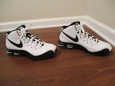Classic 2008 Used Worn Size 11 Nike Shox Slam Elite TB Shoes White Black Gray