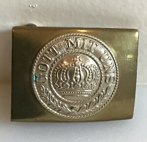 WWII German Enlisted Personnel Original Belt Buckle In Good Condition