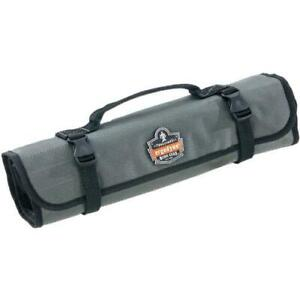 Arsenal 5870 Tool Roll-Up Pouch, 25-Pockets, Polyester, Gray