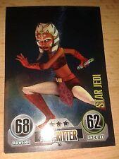 Force Attax Star Wars Serie 1 Star-Karte Nr.153 Ahsoka Tano Sammelkarte