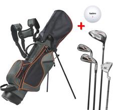 Kinder GOLF SET 6 - 10 Jahre komplett Junior 4 Golfschläger Golfbag Ball ~yx666+
