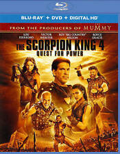The Scorpion King 4 Quest for Power  2 disc set  new  Blu-ray disc & DVD