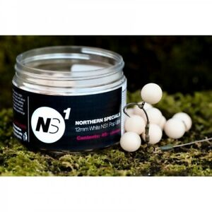CCMoore Northern Specials NS1 Pop Ups White - 12mm 45St.
