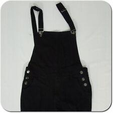 VULCANN Men's Black Denim Overall Distressed Pants size XL