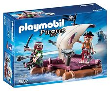 Playmobil 6682 pirate radeau