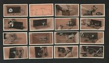 Godfrey Phillips How To Build a Two Valve Set 1929 Full Set 25 cards