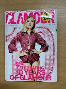 GLAMOUR MAGAZINE (APRIL 2011) - VICTORIA BECKHAM (TRAVEL SIZE) (LL)