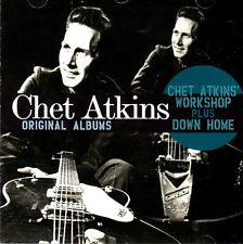 CHET ATKINS .. WORKSHOP & DOWN HOME .. 2 ORIGINAL ALBUMS .. OLDIES