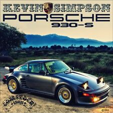 """7"""" KEVIN SIMPSON Porsche 930-S ( 911 Turbo ) COMSTOCK Country USA 1993 like NEW!"""