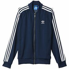 ADIDAS ORIGINALS SUPERSTAR TRACK TOP NAVY RETRO CASUALS MEN'S