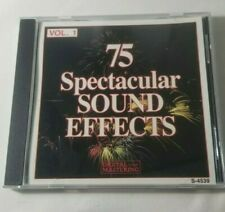 75 Spectacular Sound Effects, Vol. 1 (CD, 1994, Madacy)