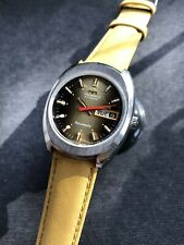 Lovely Technos Aquamatic Vintage Automatic Mens Watch Steel Swiss ETA 2789 35mm