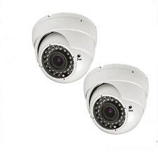 Amview  Sony CMOS 1800TVL 2.8-12mm Vari-focal Wide Angle Surveillance 2*p Camera