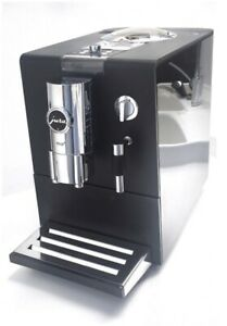 Jura ENA 9 one touch Kaffeevollautomat - Pianoblack - proff. gereinigt, gepr