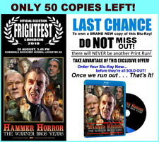 Blu Ray Hammer Horror The Warner Bros Years 2017 Feature Documentary New Footage