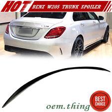 """IN STOCK USA Unpaint Mercedes BENZ W205 Sedan A Type Trunk Spoiler 15-17 C400"