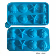 TALA Silicone Mould Kids Shape Ghost Star Chocolate Jelly Mold Cake Pop Out Spac