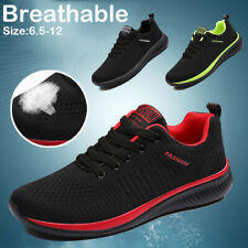 Men's Breathable Walking Athletic Sports Running Shoes Casual Sneakers Gym