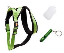 1x Karlie Cross Hundegeschirr,25mmX84-120cm,grün,XL +Hundepfeife... -Top-!!!