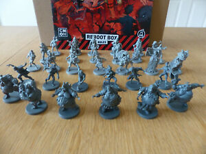 Zombicide 2nd Edition Daily Zombie Spawns + Rules Book! Kickstarter Exclusive