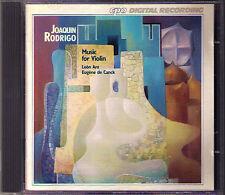 RODRIGO Violin Sonata pimpante Das Esbozos Capriccio Rumaniana ARA CANCK CD CPO