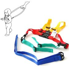 Baby Toddler SAFETY HARNESS Learning To Walk Assistant Walking Reins Multicolour