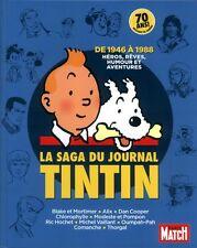 La saga du Journal de Tintin – De 1946 à 1988 – Hors série Paris Match