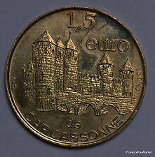 CARCASSONNE    1,5  EURO TEMPORAIRE DES VILLES   1082A324
