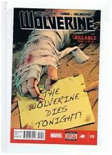 Marvel Comics Wolverine #10 NM Dec 2013
