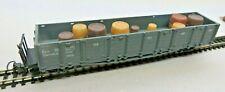 Liliput H0e 917 offener Güterwagen 268 der Zillertal Bahn mit Fässerladung