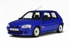 1/18 Otto Models Peugeot 106 rallye 1996 Bleu Santorin OT621 cochesaescala